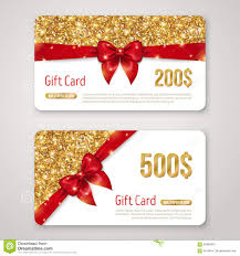 gift certificate christmas gift card design stock photo image merry christmas gift voucher certificate template design middot gift card design gold glitter texture and red royalty stock photos