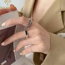 Buy <b>серебро</b> 925 пробы черным ониксем online