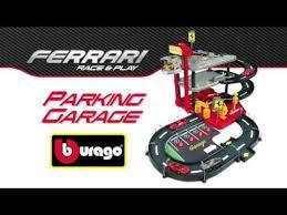 <b>Bburago 1:43</b> FERRARI PARKING GARAGE - YouTube