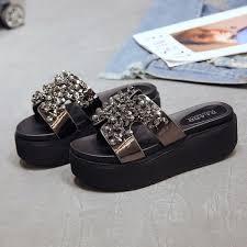 <b>Moxxy</b> 2019 Spring Summer <b>Woman</b> Shoes Platform Rhinstone ...