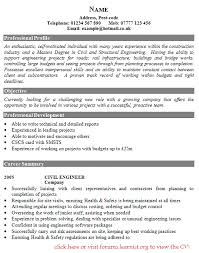 cv examples uk engineering   how to make a resume receptionistcv examples uk engineering cv advice and examples university of kent civil engineer cv example job