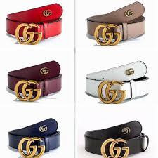 Fashion <b>Women's luxury Genuine Leather</b> G-Style Belts Jeans G ...