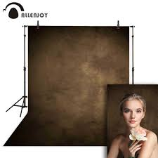 <b>Allenjoy</b> background photography brown <b>pure</b> solid <b>color</b> muslin ...