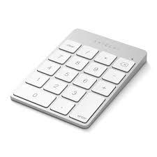 Беспроводной блок <b>клавиатуры Satechi Aluminum Slim</b> Keypad ...