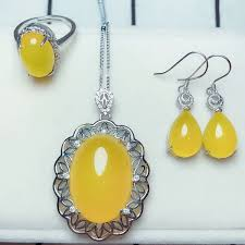 2018 <b>Yu Xin Yuan Fine</b> Jewelry Natural 925 Silver Inlaid Yellow ...