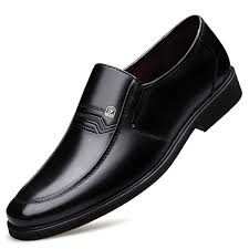 2019 New Design Fashion Black Split Leather Man Dress Shoes ...