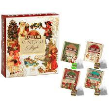 <b>Чай Basilur Винтаж Ассорти</b>, 40 пак 71432: купить за 440 руб ...