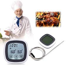 Generic Touchscreen LCD Barbecue Timer Food <b>Cooking</b> ...
