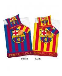 fc barcelona reversible single duvet cover and pillowcase set barcelona bedroom