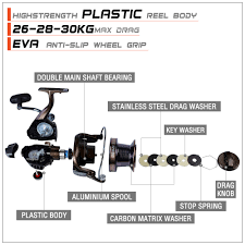 【Free Line】Ready Stock New CTS All-metal <b>Spinning Reel</b> 14 1 ...
