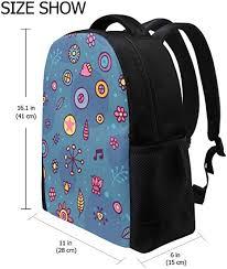 FANTAZIO backpack charms <b>Special Cute Flower</b> School bag ...