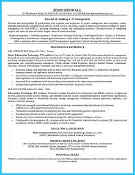 understanding a generally accepted auditor resume how to write a auditor resume 7