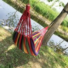 Hot <b>Portable Hammock</b> Outdoor Garden <b>Hammock</b> Hanging Bed for ...