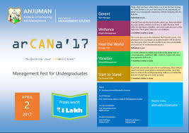 arcana 2017 management fest anjuman institute of technology arcana 2017 poster jpg