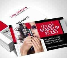 fully customizable makeup artist business cards created by colourful designs inc