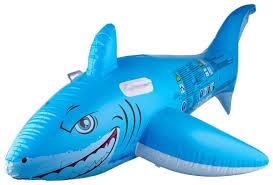 <b>Надувная игрушка</b>-наездник <b>Bestway</b> Большая белая акула ...