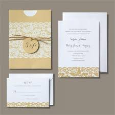 gartner studios stationery invitations for weddings parties more brides® rustic chic wedding invitation kit