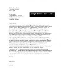 teaching cover letter for new teachers job resume samples