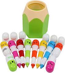 Amazon.com : Abcsea 10PCS Vitamin Pill <b>Ballpoint Pens</b> with <b>1PCS</b> ...