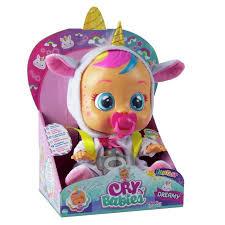 Buy Cry Babies <b>Dreamy</b> the <b>Unicorn</b> Doll | Dolls | Argos