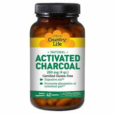 Country Life Natural Activated Charcoal, 260 mg ... - Fry's Food Stores