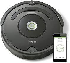 <b>iRobot Roomba 676</b> 0.6L Black Robotic Vacuum Cleaner – Robotic ...