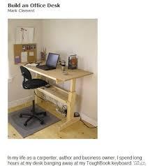 building an office desk building an office desk