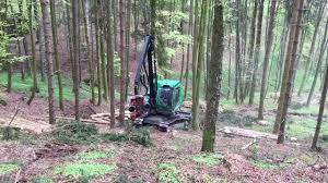 Neuson Forest 183HVT Harvester - YouTube