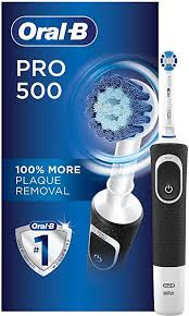 <b>Oral</b>-<b>B Pro 500</b> Precision Clean Electric Rechargeable Toothbrush ...
