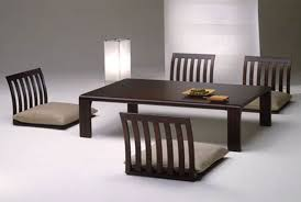Japanese Dining Room Table Floor Dining Table Modern Japanese Style Dining Table And Chair