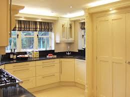 contemporary cream shaker style kitchen