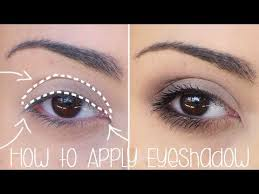 how to apply eyeshadow for beginners simple tutorial