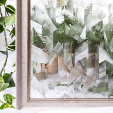 CottonColors Irregular PVC Waterproof <b>Window</b> Films Cover No ...