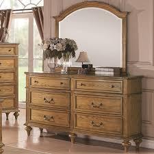 emily bedroom set light oak:  coa