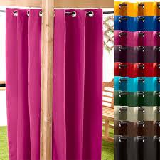 outdoor decor curtains