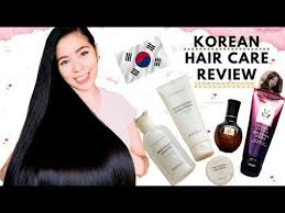 Korean <b>Hair</b> Care Products Review-<b>Hair</b> Care Routine -First ...