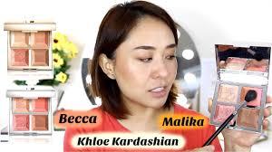 <b>BECCA X KHLOÉ KARDASHIAN</b> & MALIKA PALETTE Review ...