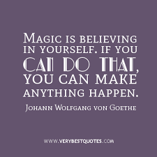 you can do it quotes, magic quotes - Inspirational Quotes about ... via Relatably.com