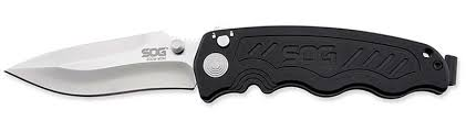 <b>Складной нож Zoom Mini</b> - SOG ZM1001, сталь лезвия AUS-8 ...