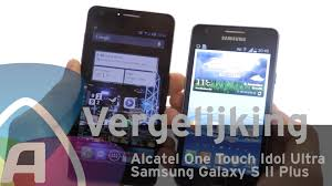Alcatel One Touch Idol Ultra vs Samsung Galaxy S II Plus review ...