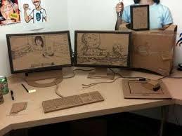 the cardboard office prank is the ultimate workplace joke office pranks trendhuntercom cardboard office furniture