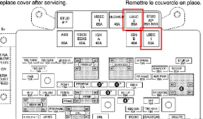 saab 9 7x fuse box wirdig fuse box diagram moreover saab 9 7x on 2003 gmc envoy fuse