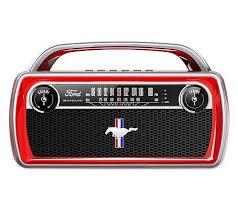 <b>ION Audio</b> Ford <b>Mustang</b> Portable Bluetooth Retro <b>Stereo</b> - QVC.com