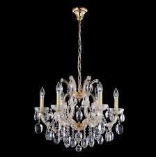 Подвесная <b>люстра Crystal Lux Hollywood</b> SP6 Gold - купить в ...