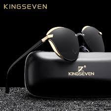 KINGSEVEN Cat Eye Sunglasses Women Polarized Fashion Ladies ...