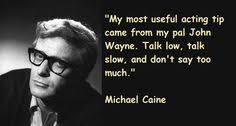 My name, is Michael Caine on Pinterest   Affair Quotes, Actor ... via Relatably.com