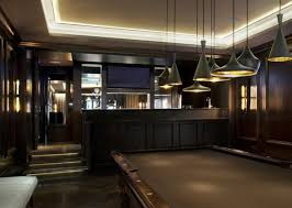 best basement lighting ideas giving decorative and functional options billiard room lighting
