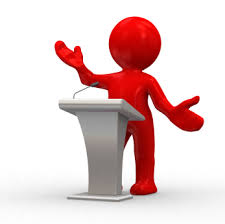 podium man clipart