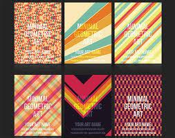 eye catching flyer templates  creative bloq geometric flyer templates