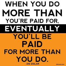 Earning | Ziglar via Relatably.com